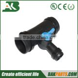Garden hose fitting 3 way valve adapter quick tap coupling