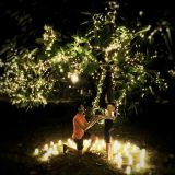 Home indoor outdoor decoration copper string light merry christmas wedding warm white fairy firefly string light set