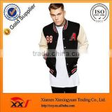 men apparel winter jackets fleece varsity letterman jackets with embroidery design wholesale