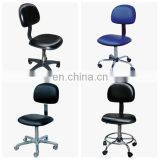 With castor,cup, Adjustable esd antistatic clean room fabric chairs
