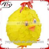 party hanging decoration yellow chicken shaped paper pinata