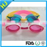 Professional Silicone Adult /Kids Swimming Goggles Anti Fog Prescription Swimming Goggles
