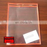 clear transparent PVC file folder sheet protector