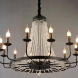 LED crystal Chandelier Pendant Light & iron pendant lamp MB1190