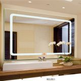5mm 6mmbathroom and hotel CE certificate lighted LED bathroom mirror