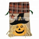 Halloween Gift Bag Pumpkin Tote Drawstring Bag Party Candy Kid Gift Bags Pouch