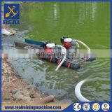 Small Gold Suction Dredge Boat for Sale
