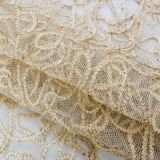 african  embroidery  gold mesh lace new sequin fabric