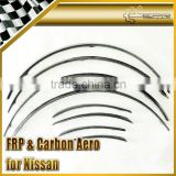 For Nissan R35 Carbon Fiber Wheel Arch Flares +15mm (8Pcs)