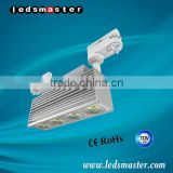 40W to 90W anti glare art gallery led track lighting with CE TUV ROHS ETL UL Certificates