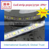 led strip smd 5050/ Waterproof IP 67 with silicone tube LED flex strip /5050 LED strip light