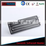 LONG WORKING LIFE CE CERTIFICATION ELECTRIC INDUSTRIAL INFRARED CERAMIC HEATER PLATE WITH THERMOCOPULE