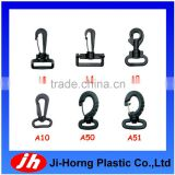 Wholesaler plastic swivel snap hook belt clip for bag