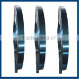 hardened and tempered blue polished steel strip