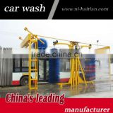 Haitian brand Attractive design Drive through auto foam bus/truck wash machine with CE