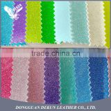 New china products matte glitter leather fabric wallpaper