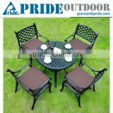 Cast Aluminum Furniture Patio Furniture Dining Set High Quality Cast Aluminum Table And Chairs Set