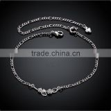 SPA015 Silver Plating Brass Anklet Jewelry