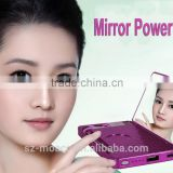 Luxury ultra thin mirror power bank 4500mah Alibaba China