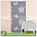 Latest designs Wonderful Blackout flower pattern print roller blind