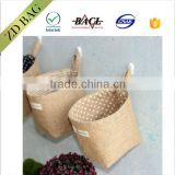 Rural household style Double sided printable buggy bag jute bag