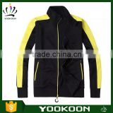 High quality mens Breathable Bomber waterproof softshell jacket embroidered sports jacket