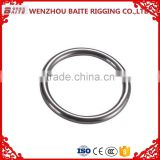 2016 hot sale China supplier Stainless Steel /environmental zinc platedWelded Round O Ring,key ring