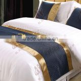 special design excellent fabric bed runner for hotels / decorativer bed runners/ comfortable body cushions