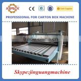 corrugated paperboard manual operation double side KDFM-720/900/1200 paper lamination machine