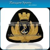 Bullion Handmade Embroidered Cap Badge PS-209