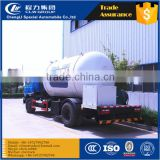 Best quality newly design dongfeng natural gas and LPG tank 4x2 lpg truck