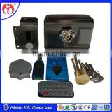 China retailers Door Lock Trustworthy JN918 Card Access Remote Control Electric Rim Lock