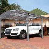 XINHAI Aluminum Carport Tent, Polycarbonate Car Parking Shelter,Outdoor Garden Used Carport