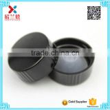 wholesale 28-400 black bakelite cap for boston round glass bottle