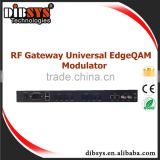 Edge Cable digital tv headend Ip to dvb-c modulator