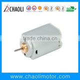 2.4V low noise electric shaver and haircut dc motor CL-FF337SA with metal brush,EMC and RoHS-chaoli