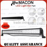 28 Inch 180W automotive led bulbs portable led light bar Waterproof rate IP 67