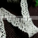 2013 crochet narrow cotton torchon lace 1.5cm/15mm, widely used in home textile - bedding