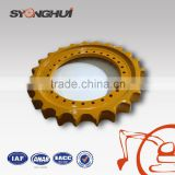 Excavator parts Sprocket D60D(five teeth) D6D(there teeth) China