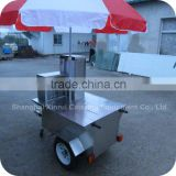 2014 Professional Cold Brewed Frappe Coffee Ice Cream Smoothies Drink Food Trailer Cart XR-CC120 A