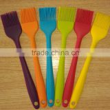 high quality whole body silicone wrapped silicone basting brushes insert steel stick