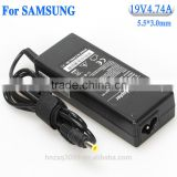 Brand New high quality OEM 110 to 220v dc power supply laptop adapter for Sumsung Asus 19v 4.74a
