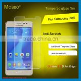 Hot!HD clear tempered glass screen protector for Samsung ON5.new product 9H hardness glass protector with package
