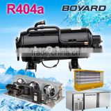 R404A horizontal refrigeration rotary compressor for hot cold water dispenser water cooler