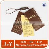 Brown paper labels parcel tags with string