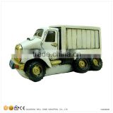 Piggy Bank Resin Toy Garbage Truck
