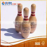 new wood bowling ball toy set with box for kids                                                                         Quality Choice