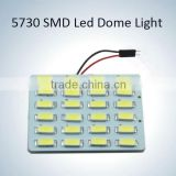New product dome light led 24 pcs 5630 smd 12v dc led car interior lights auto accessories map light