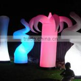 inflatable led cube,led inflatable pillar