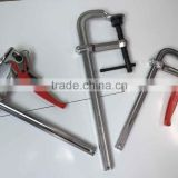 FECOM Heavy Duty Steel Bar Clamp stainless steel heavy duty hose clamps Wood clamp f STB series